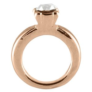 Picture of Rose Gold Wedding Ring Charm
