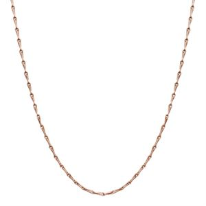 """Picture of Rose Gold Elongated Cable Chain - 28"""""""