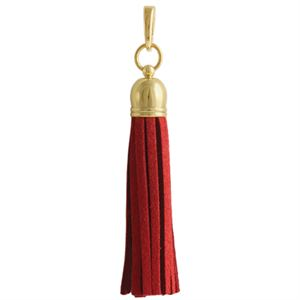 Picture of Red Leather Tassel