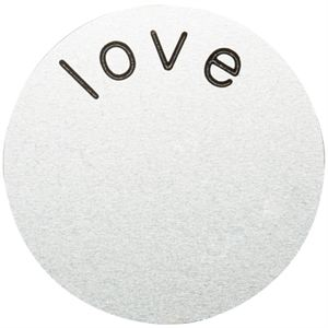 Picture of 'Love' Large Silver Coin