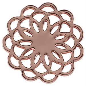 Picture of Medium Rose Gold Flower Screen