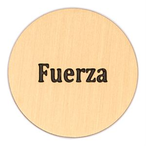 Picture of 'Fuerza' Large Gold Coin