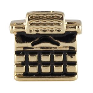 Picture of Gold Typewriter Charm