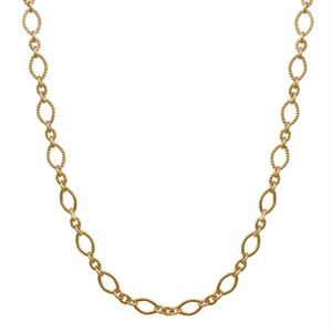 """Picture of Nickel-Free Gold Madison Chain: 28-31"""""""