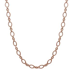 Picture of Nickel-Free Rose Gold Madison Chain: 28-31""