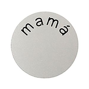 Picture of 'Mamá' Medium Silver Coin