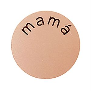 Picture of 'Mamá' Medium Rose Gold Coin