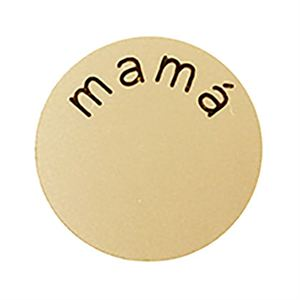 Picture of 'Mamá' Medium Gold Coin