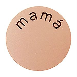 Picture of 'Mamá' Large Rose Gold Coin