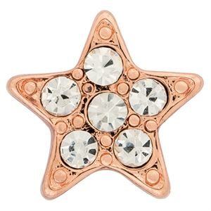 Picture of Pave Star Rose Charm