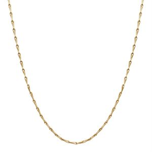 Picture of Nickel-Safe Gold Elongated Cable Chain: 28""