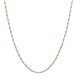 """Picture of Nickel-Safe Rose Gold Elongated Cable Chain - 28"""""""
