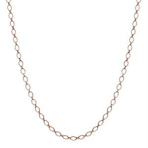 """Picture of Rose Gold Sofia Chain: 16-19"""""""