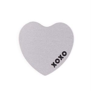 Picture of 'XOXO' Small Silver Heart Screen