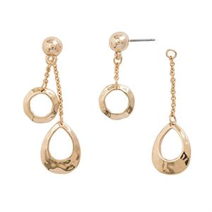 Picture of Teardrop Earrings Gold