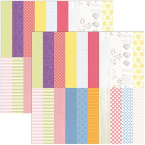 Picture of Buy one, get one 75% off sale, Floral Flourish by Katie Pertiet Designer Cardstock - Set 10